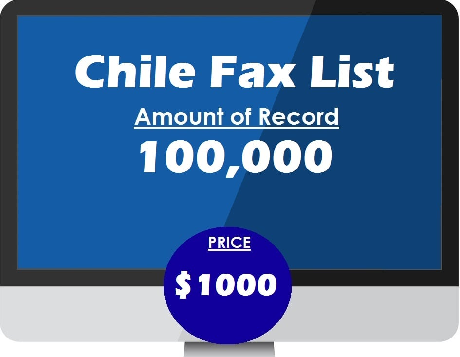 Buy Chile Fax List