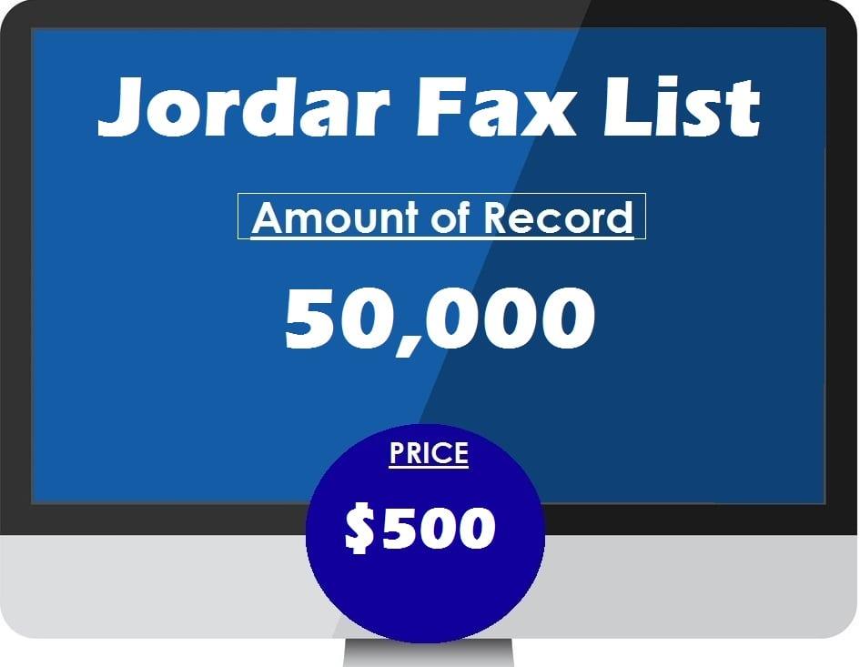 Buy Jordan Fax List