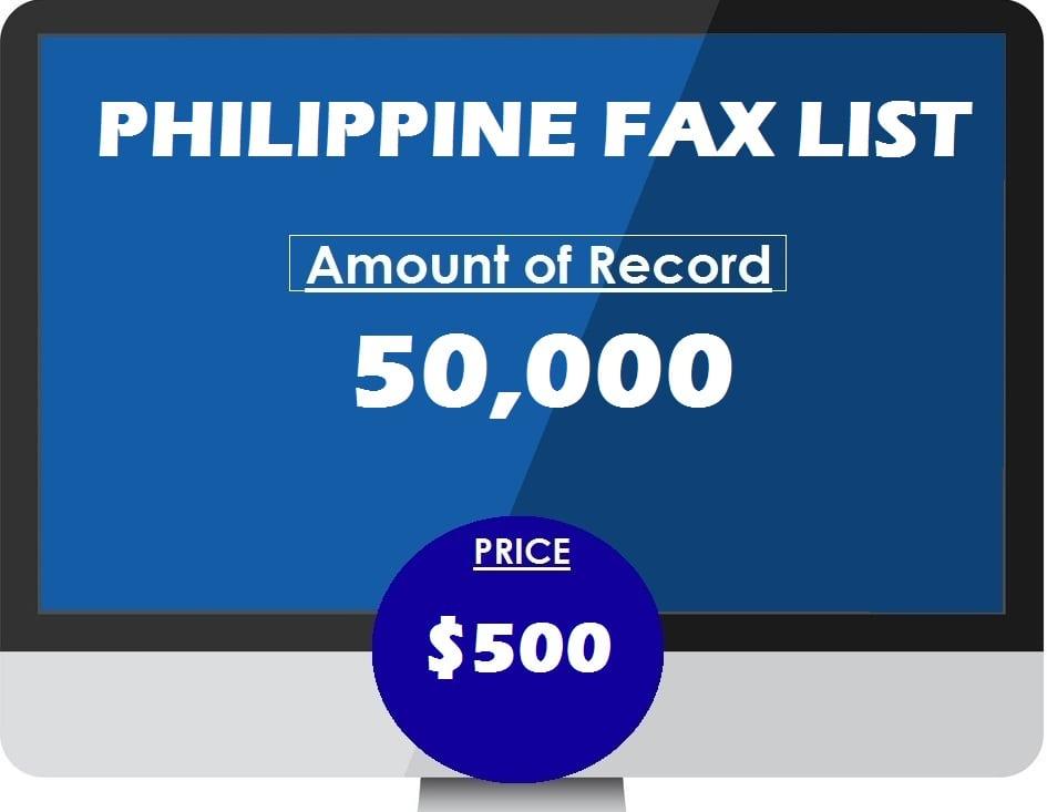 Buy PHILIPPINE fax list