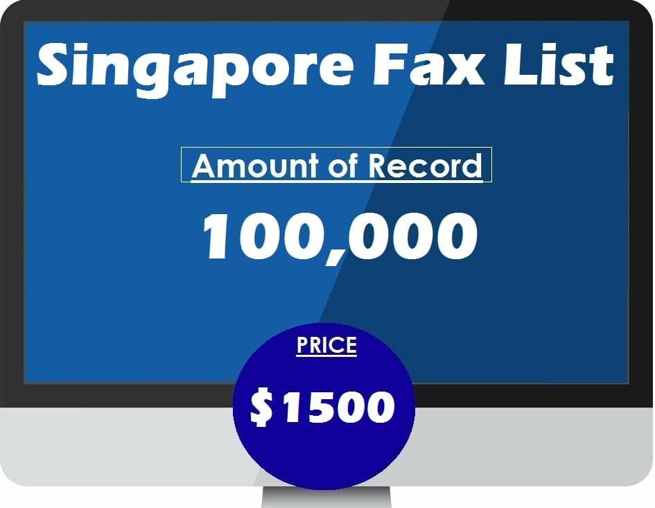 Buy Singapore Fax List